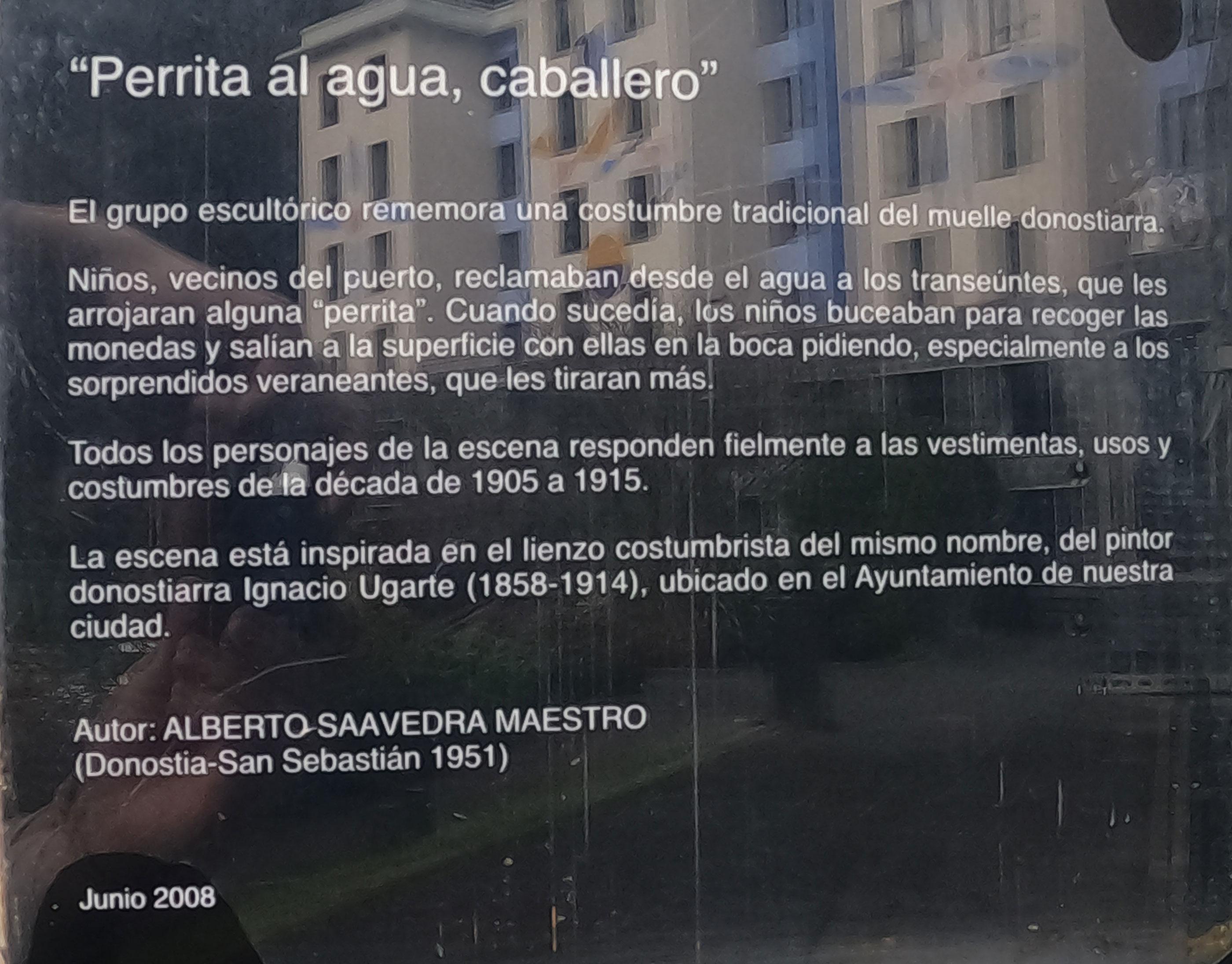 Escultura de Alberto Saavedra Maestro